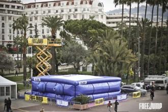 FreeJump sur la Croisette, Cannes