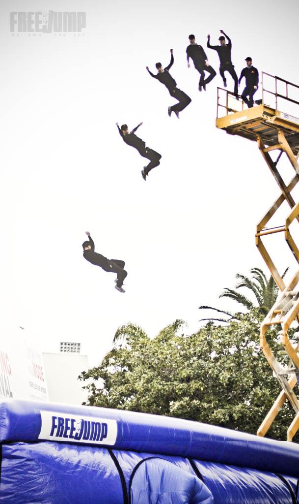 FreeJump - Décomposition d'un saut