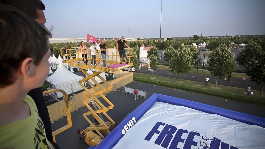 FreeJump - On se jette en l'air !
