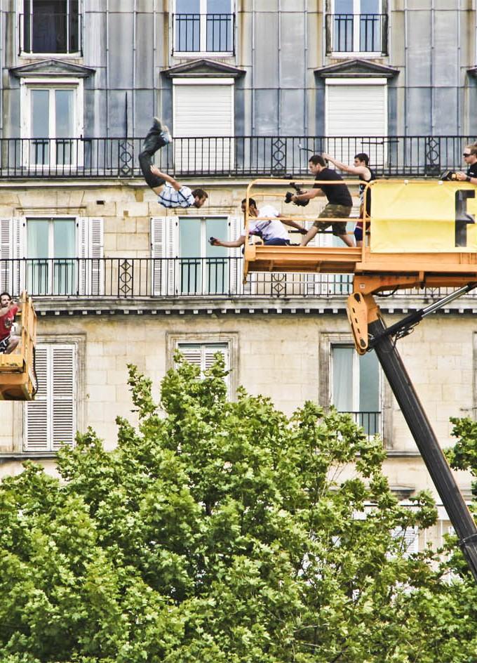 FreeJump - Jardin des Tuileries - 02